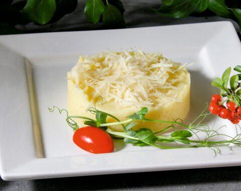 Пюре с сыром Пармезан