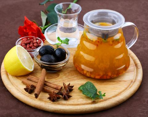 Чай фруктовый облепиховый